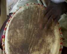 African traditional dance Stock Footage