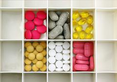 Stock Photo of Pill box