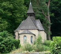 small chapel - stock photo