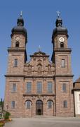 Abbey of saint peter in the black forest Stock Photos