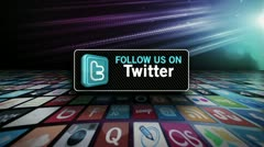 Twitter Invite 1 Stock Footage
