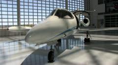 1440 Leer Jet Stock Footage