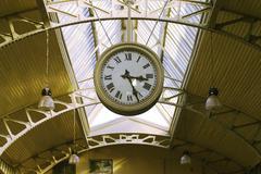 Public clocks Stock Photos