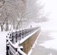 embankment - stock photo