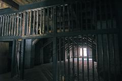 Abandoned storehouse Stock Photos