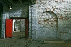 Abandoned storehouse building Stock Photos
