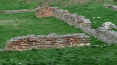 Sirmium, Roman Empire, grain square Stock Footage