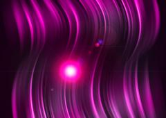 Pink aura light abstract background Stock Illustration