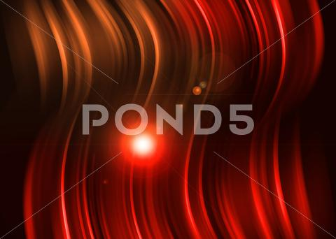 Stock Illustration of red aura light abstract on black background