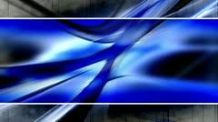 Blue Black Gray Template Style Loop - stock footage