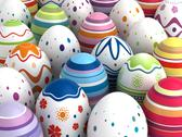 Easter background Stock Illustration