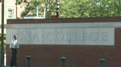 Iona College (6 of 6) Stock Footage