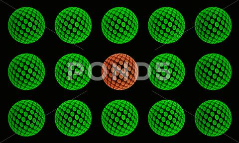 Stock Illustration of spheres