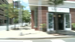 POV driving downtown (8 of 9) Stock Footage