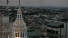 City View, Sao Paulo, Brazil. Church. Cathedral - stock footage