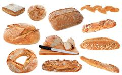 Loafs of bread Stock Photos