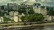 Stock Video Footage of Windsor Castle in London