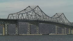 Tappan Zee Bridge 3 Stock Footage