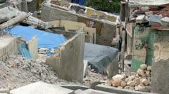 Haiti Destruction 7 - stock footage