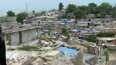 Haiti Destruction 4 - stock footage