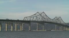 Tappan Zee Bridge 1 Stock Footage