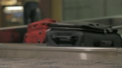 baggage claim 1 - stock footage
