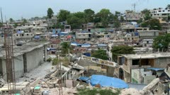 Haiti Destruction 5 - stock footage
