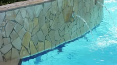 Poolwater Stock Footage
