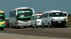 Buses, Roads, Public Transportation, Mass Transit Stock Footage