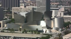 Walt Disney Concert Hall, Los Angeles Stock Footage