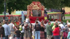 Punch and Judy Seaside Show Stock Footage