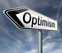 Optimism and positive thinking Stock Illustration