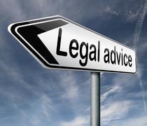 Legal advice Stock Illustration