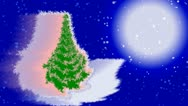 New year's eve and Merry Christmas  background. Stock Footage