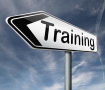 training - stock illustration