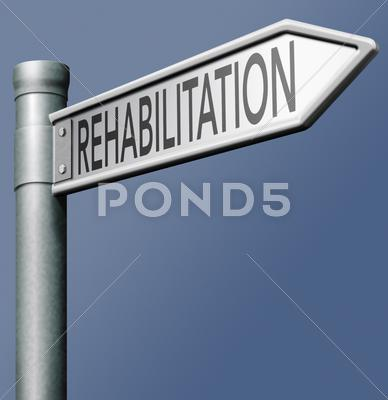 Stock Illustration of rehabilitation
