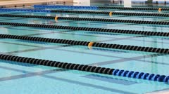 Competition Swimming Pool 2 Stock Footage