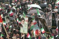 Iran 43. Tehran, Meydan Azadi (Azadi Square) Stock Footage