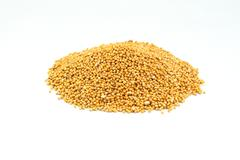 Mustard seeds. - stock photo