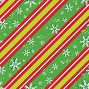 Seamless pattern in Christmas colors Stock Illustration