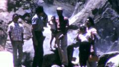 NATIONAL PARK African Black Family American 1960s Vintage Film Home Movie 6224 - stock footage