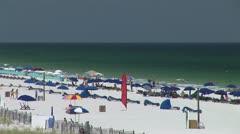 Sunny Sandy Beach - stock footage
