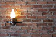 Stock Photo of old-fashioned sconce