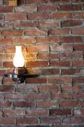 old-fashioned sconce - stock photo
