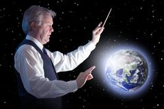 Global conductor Stock Illustration