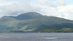 loch lomond Scotland, United Kingdom - stock footage