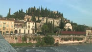Stock Video Footage of Verona Castle
