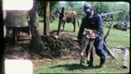 Stock Video Footage of BLACK SHARECROPPER African BLACK American 1970s Vintage Film Home Movie 6243