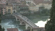 Stock Video Footage of Verona at Sunset