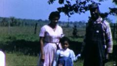 BLACK FARMER African American Family Kansas 1970s Vintage Film Home Movie 6272a Stock Footage